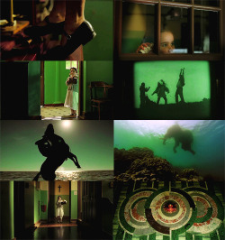 the fall + green
