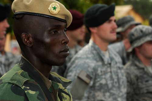"West Africa: Mali - No Shortcuts to Security | allAfrica With thousands of nationalist demonstrators in Bamako calling for military intervention to regain control of the north of Mali from Islamic extremists, and a unanimous Security Council resolution, initiated by France, approving in principle action by an ECOWAS force with support from the African Union, United Nations, and France, one might think that such an intervention is imminent. Those appearances are almost certainly deceptive. Significant skeptical voices, including UN officials, U.S. diplomats and military officials, Mali's northern neighbor Algeria, and expert civil society analysts say an ""ill-prepared"" intervention could be catastrophic. FULL ARTICLE (allAfrica) Photo: USAFRICOM/Flickr"