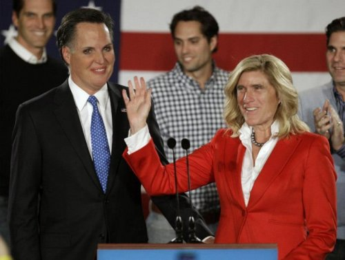Mitt/Ann Romney Face Swap This is what domestic bliss looks like.