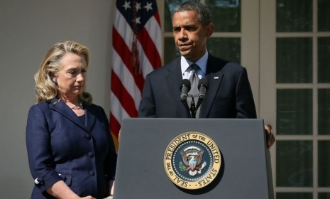 "Photo: Alex Wong/Getty Images Secretary of State Hillary Clinton told CNN on Monday that she takes full responsibility for security at the U.S. Consulate in Benghazi, where terrorists launched a Sept. 11 assault that killed U.S. Ambassador Chris Stevens and three other Americans. Mitt Romney has stepped up his criticism of President Obama over the attack, suggesting Obama hasn't been up front about what happened. Vice President Joe Biden said in last week's vice-presidential debate that the White House didn't know about requests for more security ahead of the attack. Clinton said Biden and Obama wouldn't have known, because she is the one in charge of State's 60,000-plus people in 275 posts around the world. With the election so close, Clinton said, ""I want to avoid some kind of political gotcha."" How will Clinton's statement affect criticism of the Obama administration's handling of Benghazi? Here, four consequences: 1. This won't deflect the GOP's attacksIt appears that Clinton has fallen on her sword for the president, says Margaret Hartmann at New York, although she didn't seem eager to do it. After all, just last week State distanced itself from other officials' assertions that extremists ""'hijacked' a protest in Benghazi."" Regardless, if Clinton was trying to ""deflect the Republicans' attack,"" it won't work. Romney has slammed the administration for blaming the attack on ""a YouTube video and a nonexistent riot,"" then for accusing the GOP ticket of politicizing the tragedy. ""It won't be too hard for the Romney team to work in another line accusing Obama of shifting the blame to his popular secretary of state."" Clinton can't let Obama off the hook, says Paul Mirengoff at PowerLine, for ""the false statements by the Obama administration"" after the attack. The State Department ""knew that this was a terrorist attack, not a protest,"" yet the administration mischaracterized it for days. ""That's on Obama, not Clinton."" 2. Clinton has more explaining to doSo, Hillary says she's responsible for diplomats' security, says The Wall Street Journal in an editorial. ""That's nice, but it still leaves many questions, such as why her own comments to the U.N. differed so much from the substance and tone of Mr. Obama's."" Remember, he was still talking about the Benghazi attack and the anti-Islam video in the same breath. ""Saying you take 'responsibility' in brief interviews from faraway Peru is a long way from acting as if you're responsible."" Keep reading"