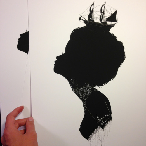 charmaineolivia:  Shipwreck Silhouette limited edition. Available Friday  Oct 19 :)