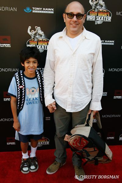 Willie & Nathen at Stand Up For Skateparks Benefiting The Tony Hawk Foundation [x]