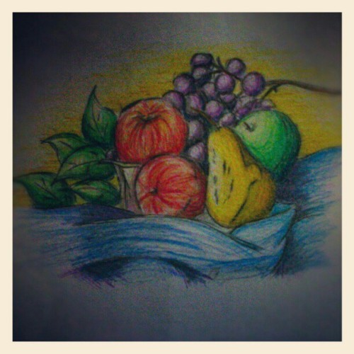 My hand is still working…. #art #skecth #drawing (Taken with Instagram)