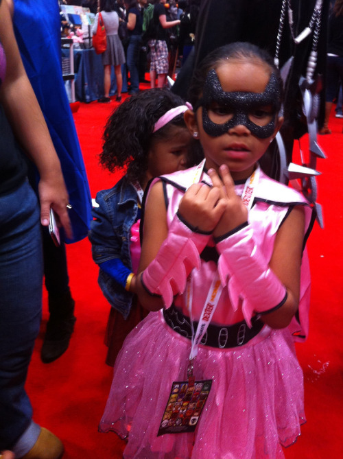 cosplayingwhileblack:  X Character: Princess! Batman Series: DC Comics   I see at least TWO princesses!