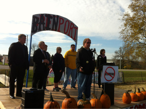 #Sensata worker Tom Gaulrapp talks about how Romney doesn't care about American Workers