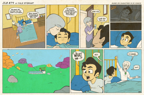 jl8comic:  JL8 #79 by Yale Stewart Based on characters in DC Comics. Creative content © Yale Stewart. Like the Facebook page here! Archive Thank you so much for those of you who came out to NYCC to see me! It was such a pleasure meeting everyone, and you made it my best con EVER! I hope you had as much fun as I did, and got home safe! -Yale  Danile Hall! :D