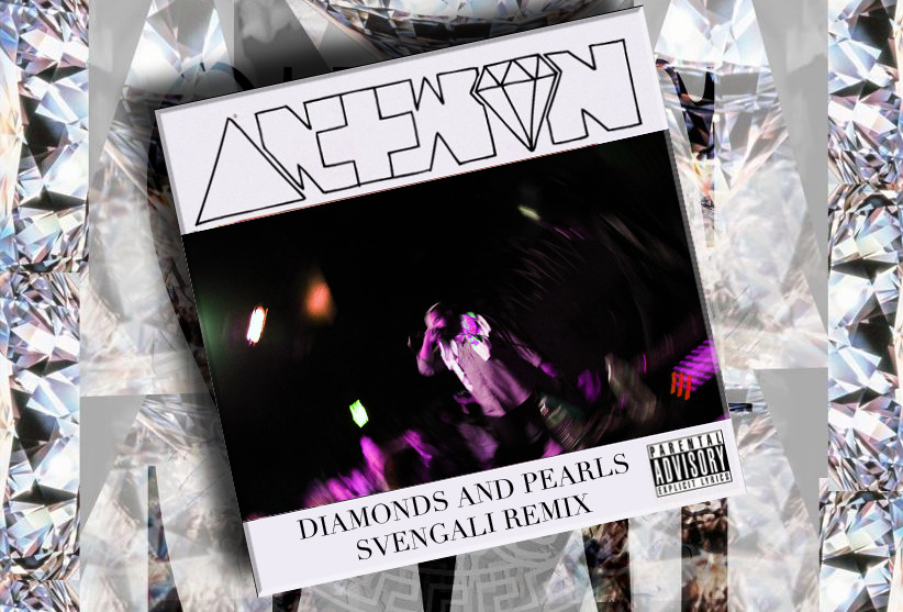 .:. ANTWON ON DAZED MAG TODAY, PREMIERING THE FIRST END OF EARTH REMIX, 'DIAMONDS & PEARLS' FROM THE HOMIE SVENGALI (WHO ALSO MADE THIS GORGEOUS GRAPHIC) .:.