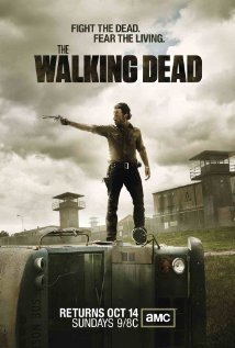 October 15: The Walking Dead I know it's not a movie, but it is a show about zombies, and is awesome. I think the season is off to a good start.
