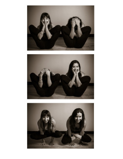 Very nice photoshoot with a few yogis at the studio :)