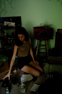 nudeunderwater:  Ana's Room on Flickr.
