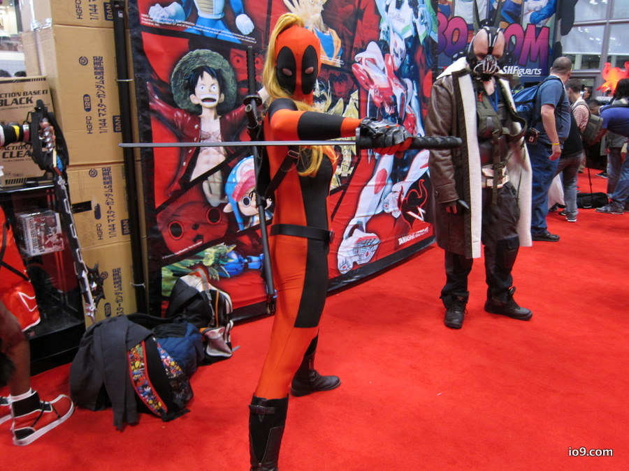 Lady Deadpool and Bane
