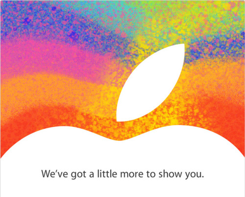 Apple's iPad mini event is happening on October 23rd, and we'll be there live!