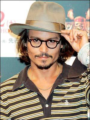 politicsprose:  Johnny Depp: movie star, bad boy, and now owner of a publishing imprint.