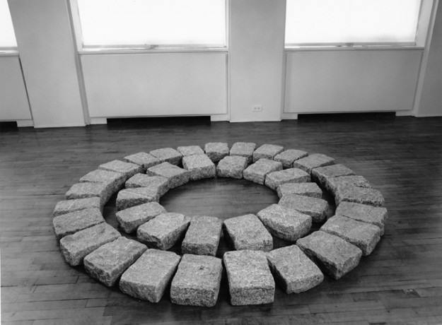 Richard Long, Soho Circles, 1989