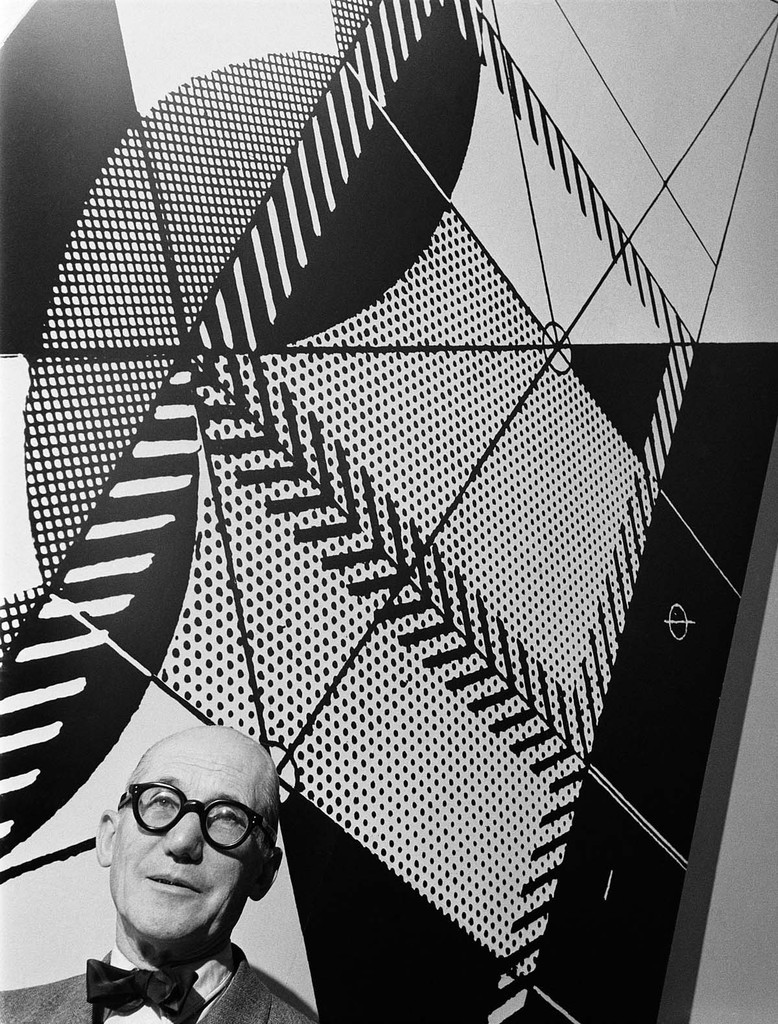 Le Corbusier, by Willy Rizzo