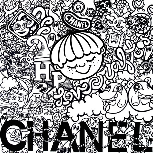 milkstudios:  Chanel Flavored Dreams Art By: Hayley Barker  Chanel cartoons > regular cartoons