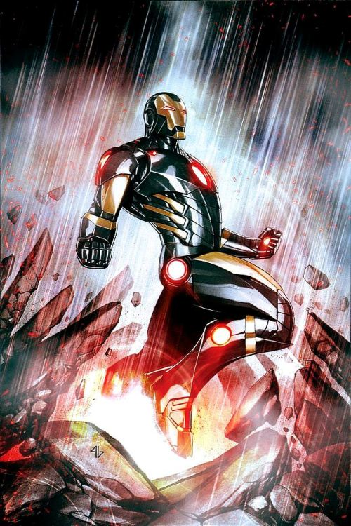 thefandomzone:  IRON MAN by Adi Granov
