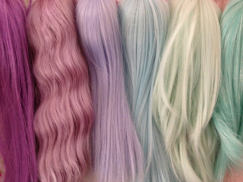 Pastel wig by Shory ♥ on Flickr.