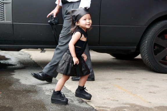 louis-vuittonn:  Alexander Wang's neice, she's so adorable! x