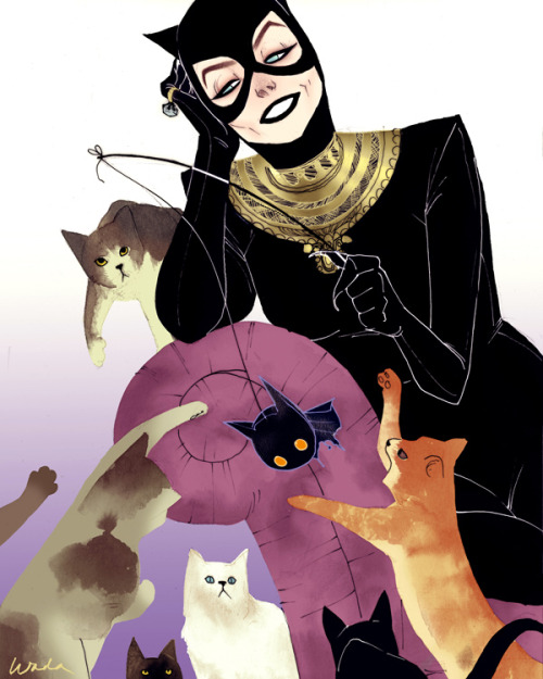 firststronghold:  Catwoman by Kevinwada on DeviantART.
