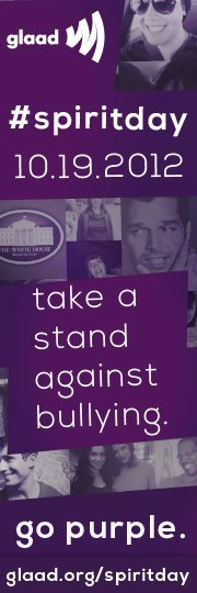 Have you RSVP'd on Facebook to go purple on #SpiritDay 10/19 to stand up against bullying? DO IT NOW.