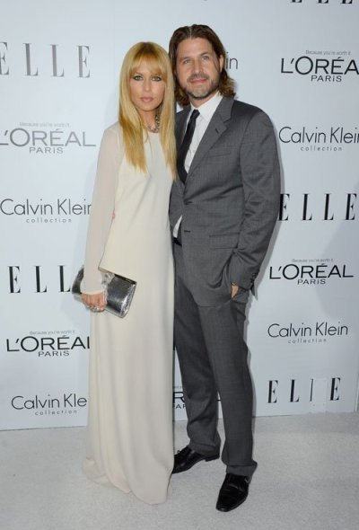 Rachel Zoe and hubby Roger Berman at ELLE's 19th Annual Women In Hollywood Celebration in Beverley Hills last night