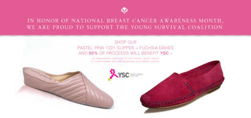Don't forget our two most popular pink styles raise money for @YSCBuzz #shopforacause #thinkpink