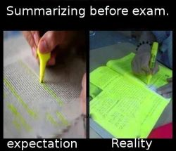 Summarizing…. yup