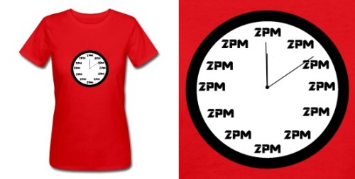 l-e-tees:  2PM Clock T-shirt $16.00 at L-E-Tees / Visit the store.