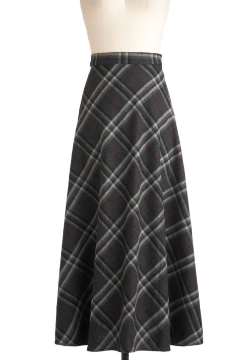 Shop the Best Plaid Plans Skirt.