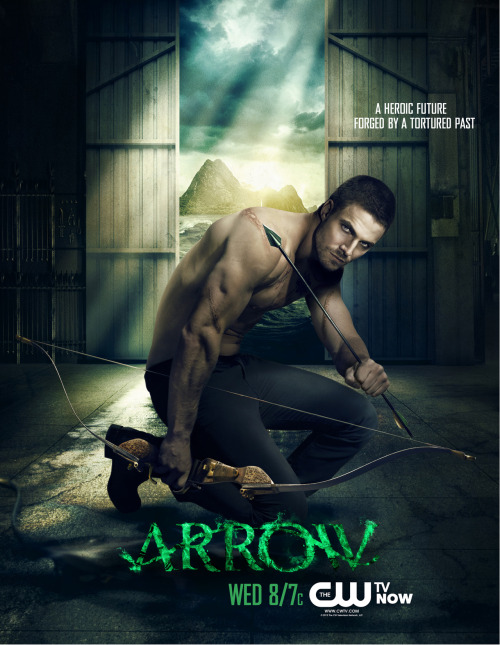 New promo poster for Arrow, thanks to GreenArrowTV.com