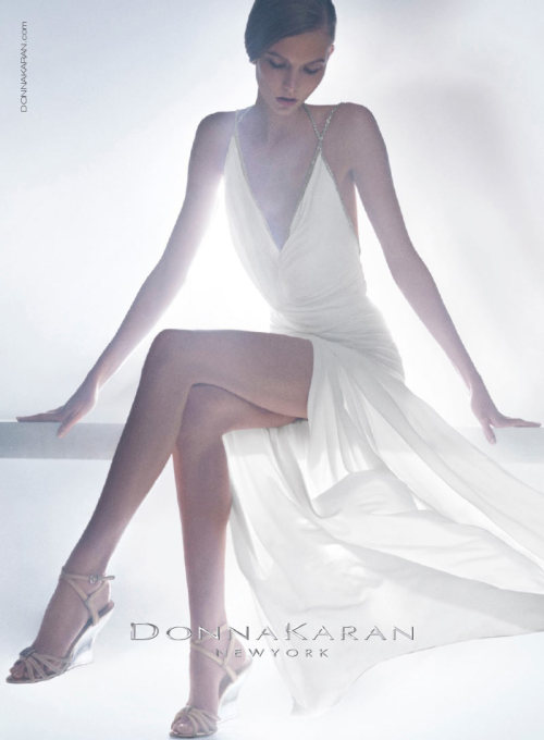 Karlie Kloss is an Ethereal Vision in Donna Karan's Resort 2013 Campaign http://bit.ly/QQmGNd