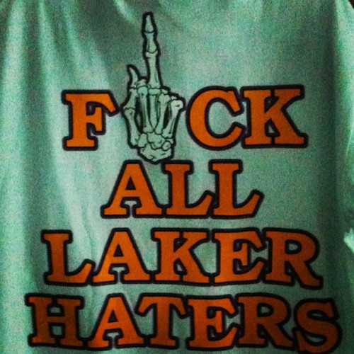 Let's Go Lakers! #lakers (Taken with Instagram)