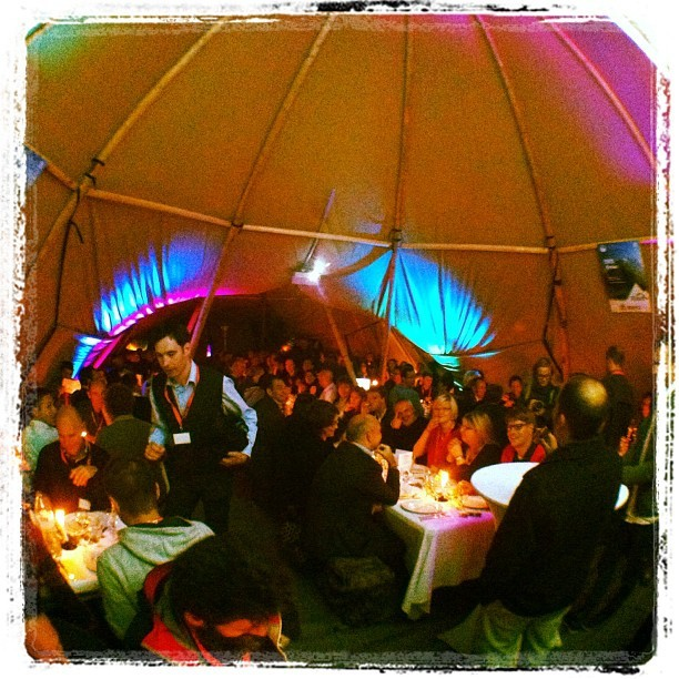 Kick off of the European Outdoor Forum 2012 in Annecy (Taken with Instagram)