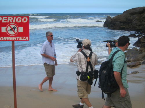 Behind the Scenes— No Reservations: Rio
