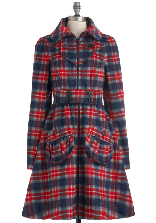 Shop the I Heart Plaid Coat.