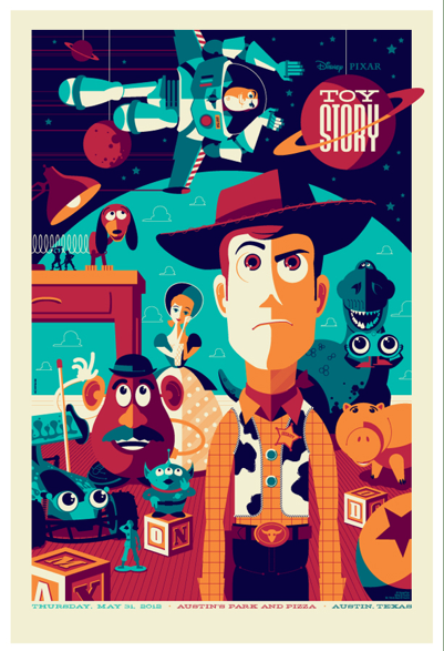 Daily Inspiration - Toy Story Poster Check us out at www.owlrepublic.com
