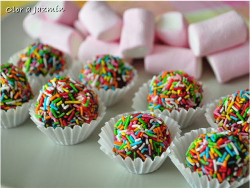 gastrogirl:  chocolate covered marshmallows.