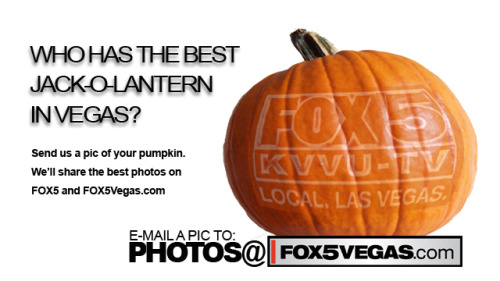 Do you have the best jack-o-lantern in Vegas? Send a pic to photos@fox5vegas.com We'll share our favorites on FOX5 and FOX5Vegas.com
