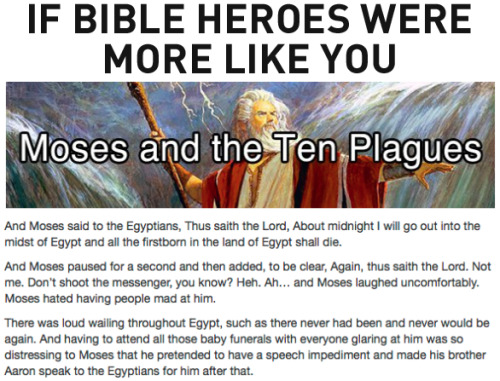 If Bible Heroes Were More Like You [Click to continue reading]