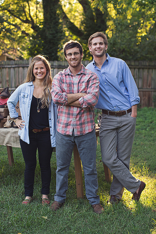 tumbledownsouth:  Zoe, Patrick, Nick | Nisolo Shoes <— Click to read feature