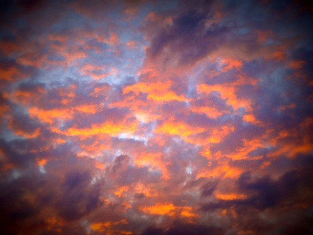 Colorful clouds - Lomo by CameliaTWU on Flickr.
