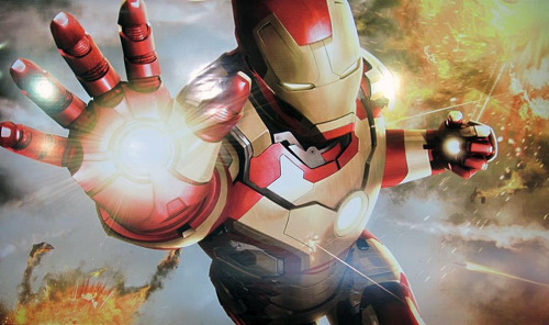 rdjnews:  New promotional art work for Iron Man 3. (Source: Marvel Freshman)