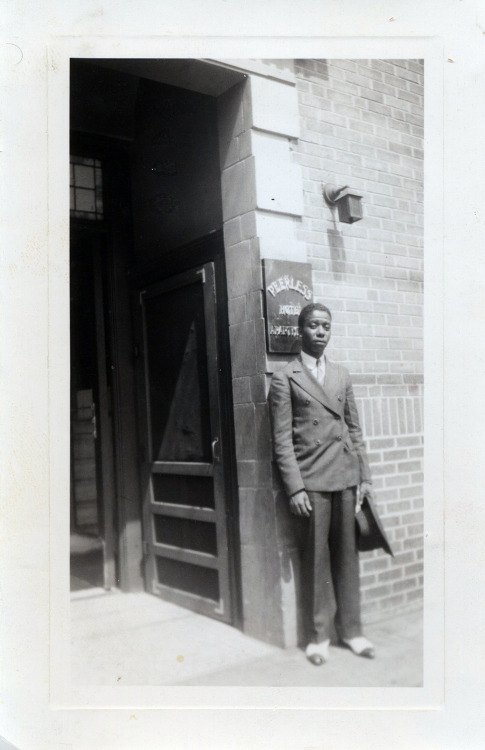 Young Man outside the Peerless Hotel September 26, 1939 ©WaheedPhotoArchive, 2012