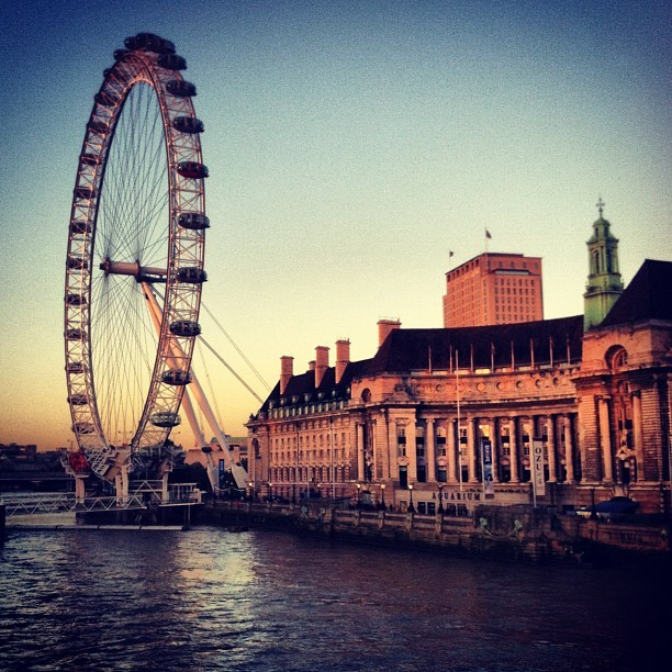 Taken with Instagram at Westminster Bridge