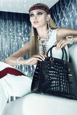 Sasha Pivovarova for Prada Resort 2013