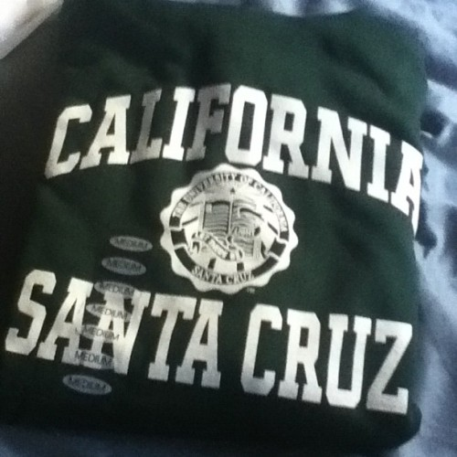 thatgroovyfeeling:  Need to represent! #UCSC (Taken with Instagram)