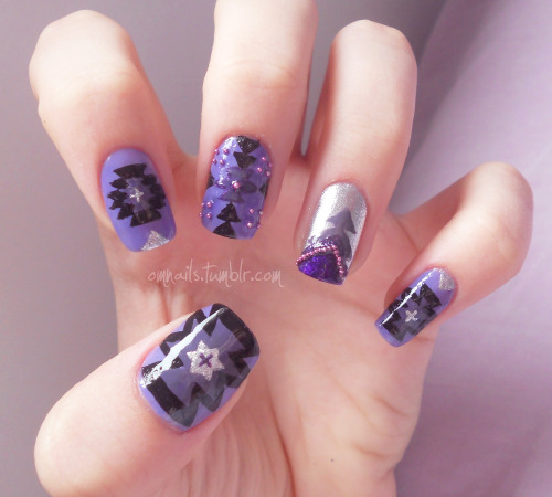 Aztec (facebook) (+nails)
