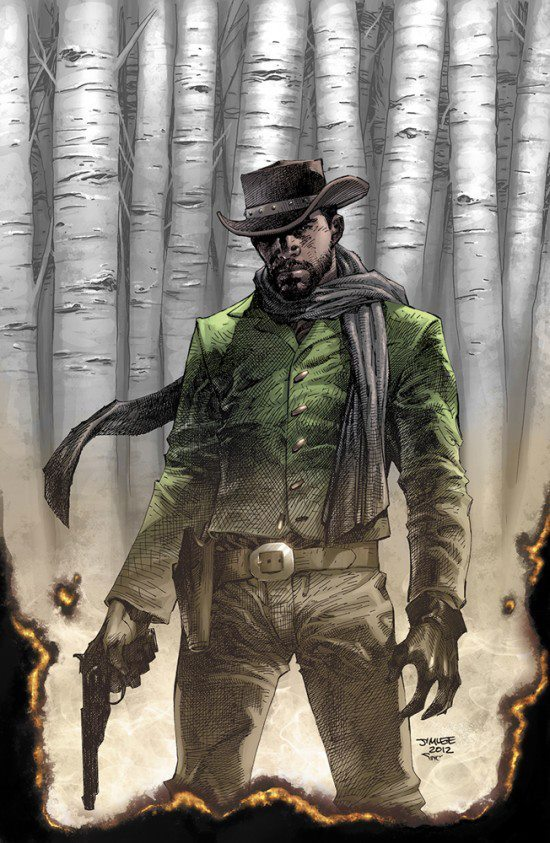 Django Unchained #1 by Jim Lee & Alex Sinclair