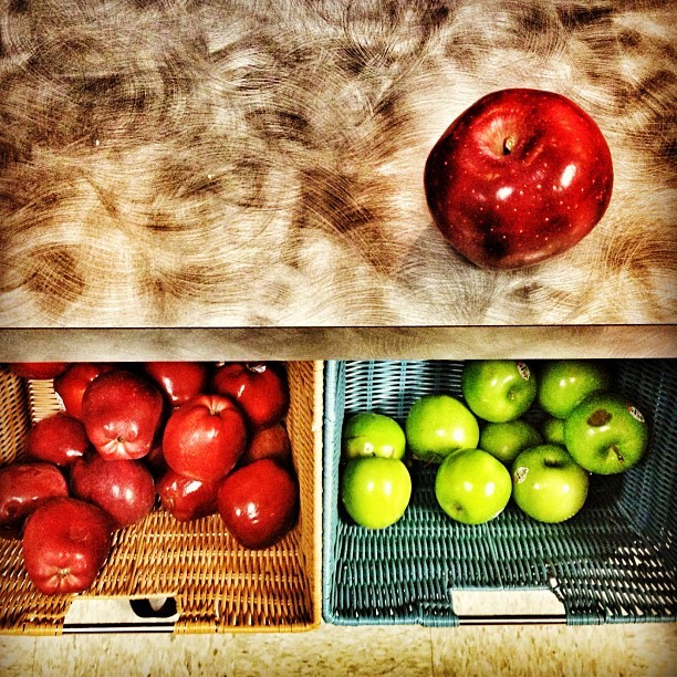 New job. Day 2. #anappleaday A workplace w/this many free apples for their employees has to be incredible. @pardot Thank you for training me, teaching me and fueling me!  (Taken with Instagram at Pardot)